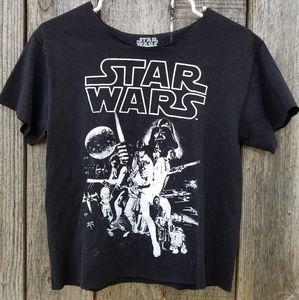 Crop top starwars shirt